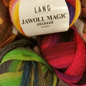 lang, lang yarn, lang jawoll magic degrade